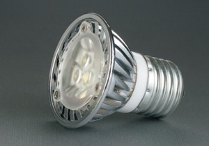 LED Spotlight LH-E27-03W01