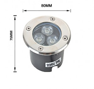 Luces Enterradas LED LH-DeL03W01